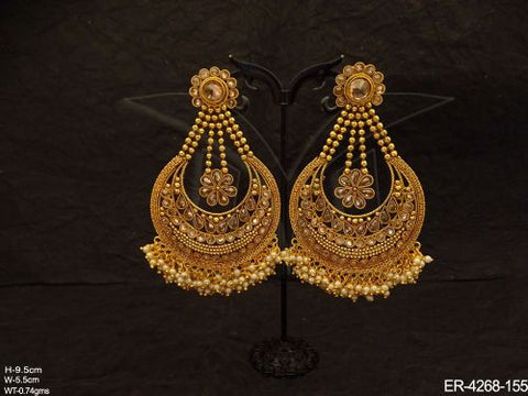 Polki Antique Earrings