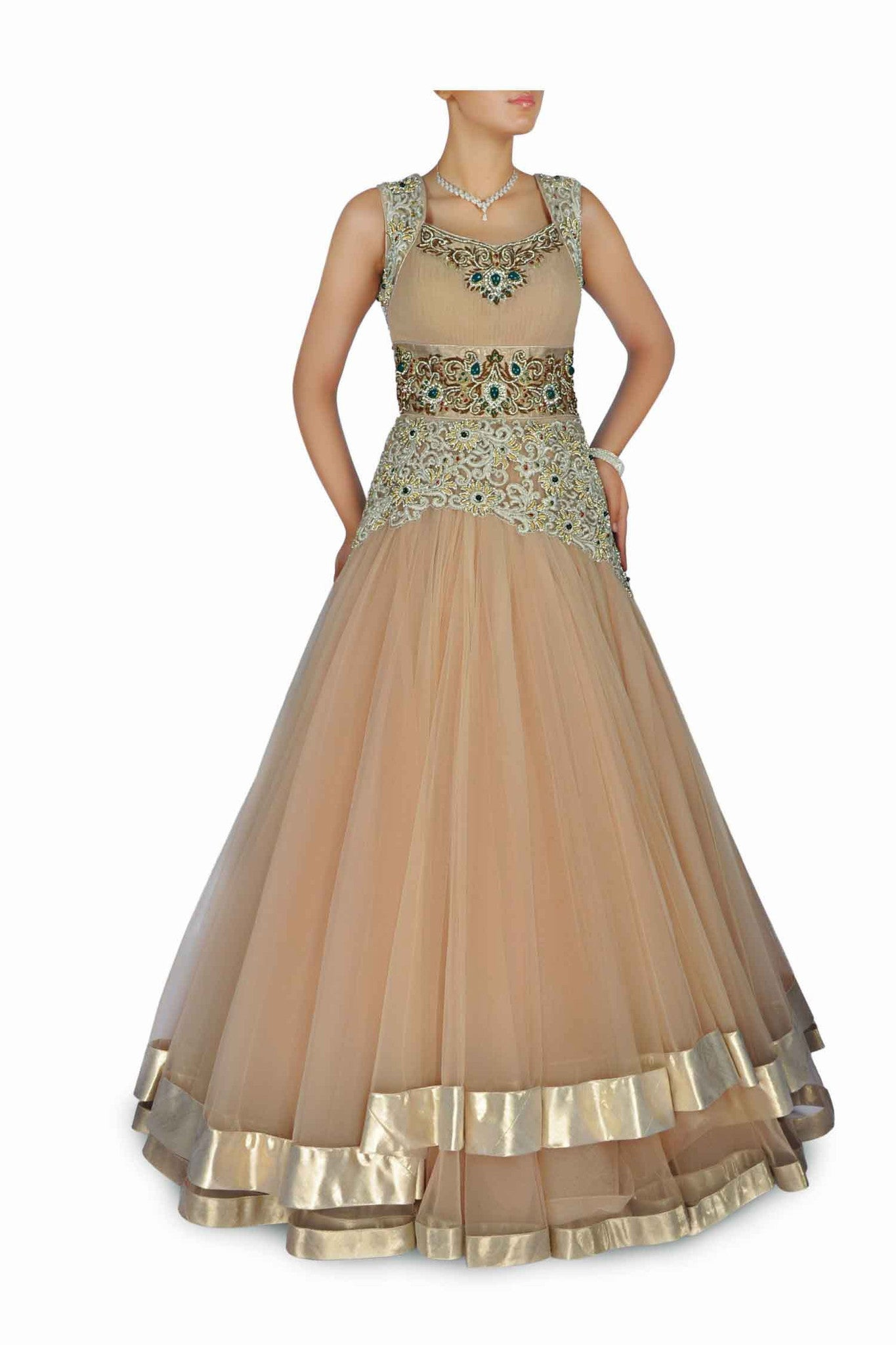 47aca4a54 Beige colour Indo Western gown CTC by Panache Haute Couture -July2014007.jpg v 1405660093