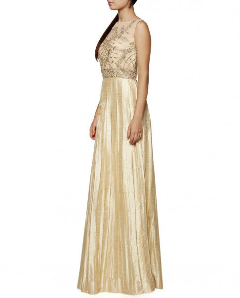 Beige Colour The Palini Gown