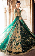 Emerald Green Mehendi Dress