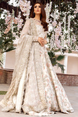 Ivory Color Wedding Lehenga