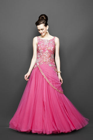 Buy Indo Western Gowns and Dresses Online - Panache Haute Couture ...
