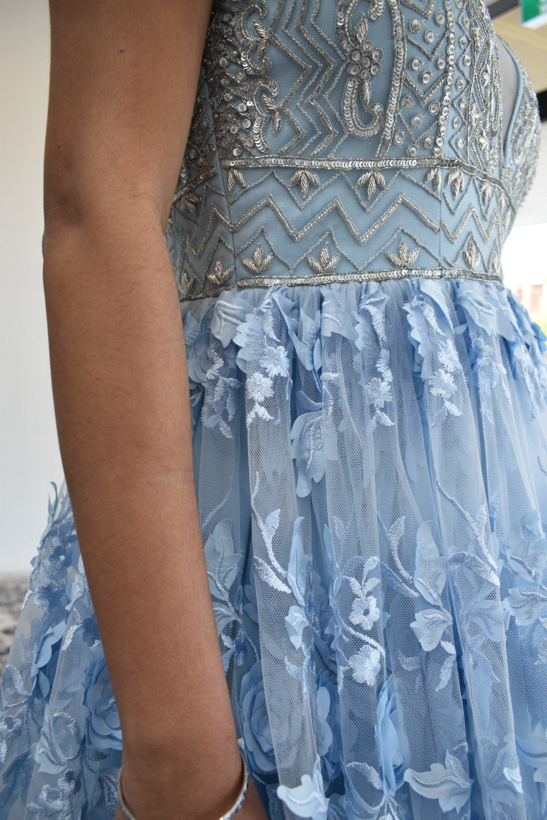Powder Blue Gown from Panache Haute Couture 1