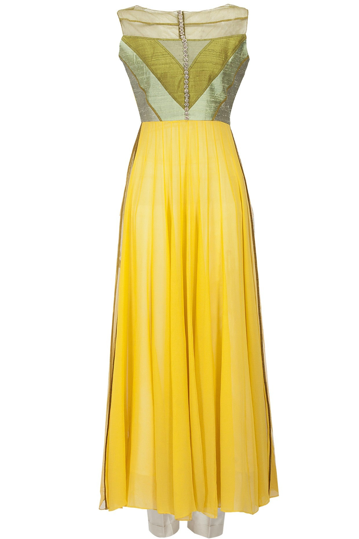 Yellow Color Designer Anarkali