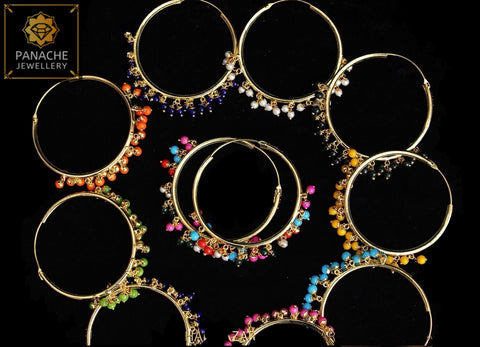 High Quality Punjabi Traditional Earrings