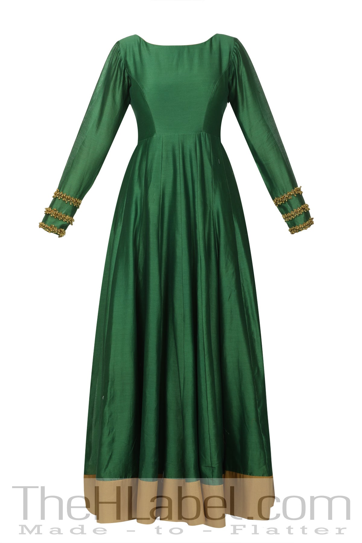 Ghungroo Embroidered Anarkali With Dupatta