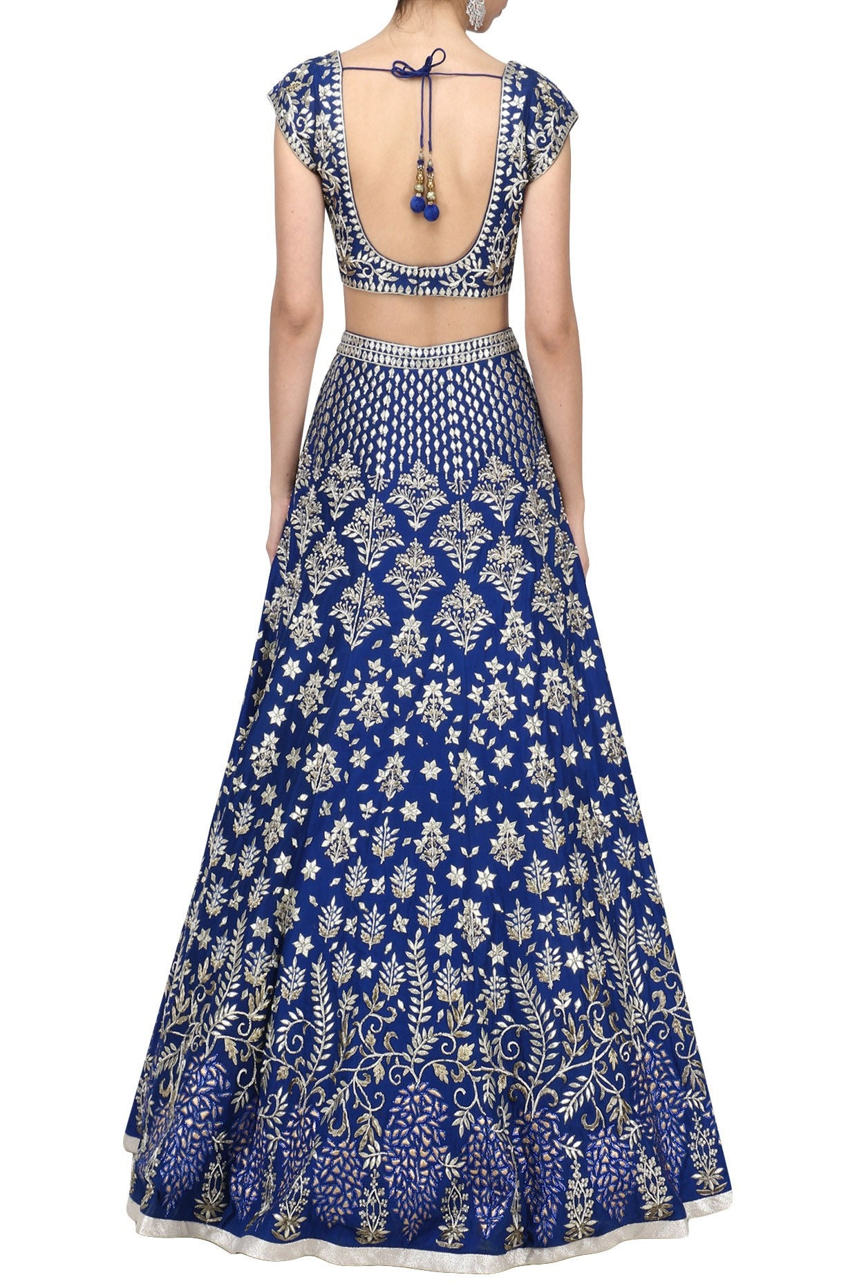 Bright Blue Color Lehenga Choli