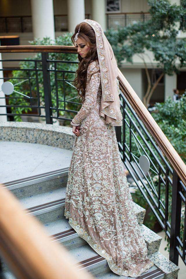 Pakistani Bridal Trail Anarkali