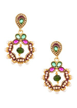 Multicolour Designer Earrings