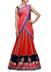 lehenga choli in Red color