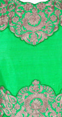 Light green color long anarkali