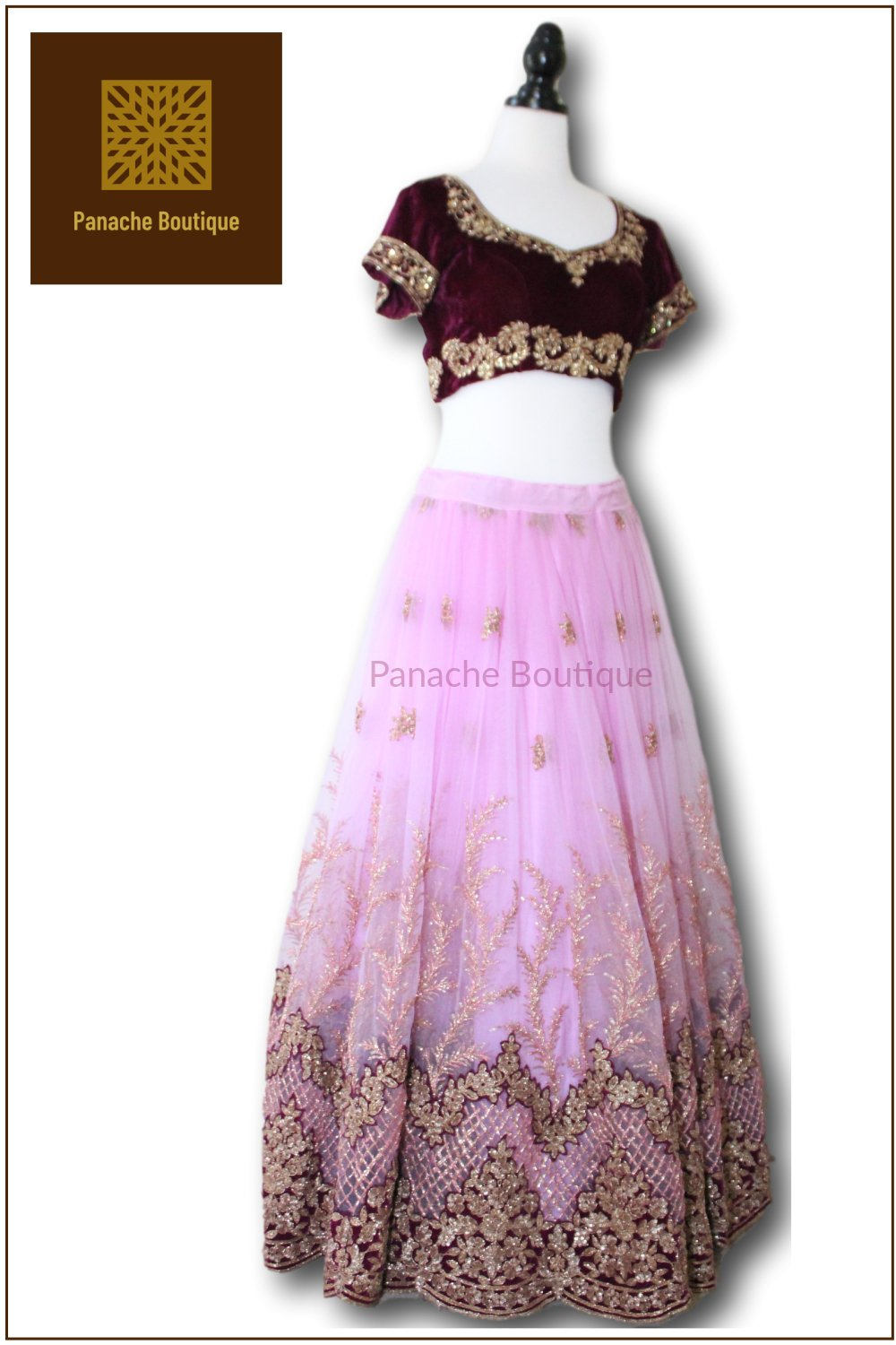 Purple Colour Lehenga Choli