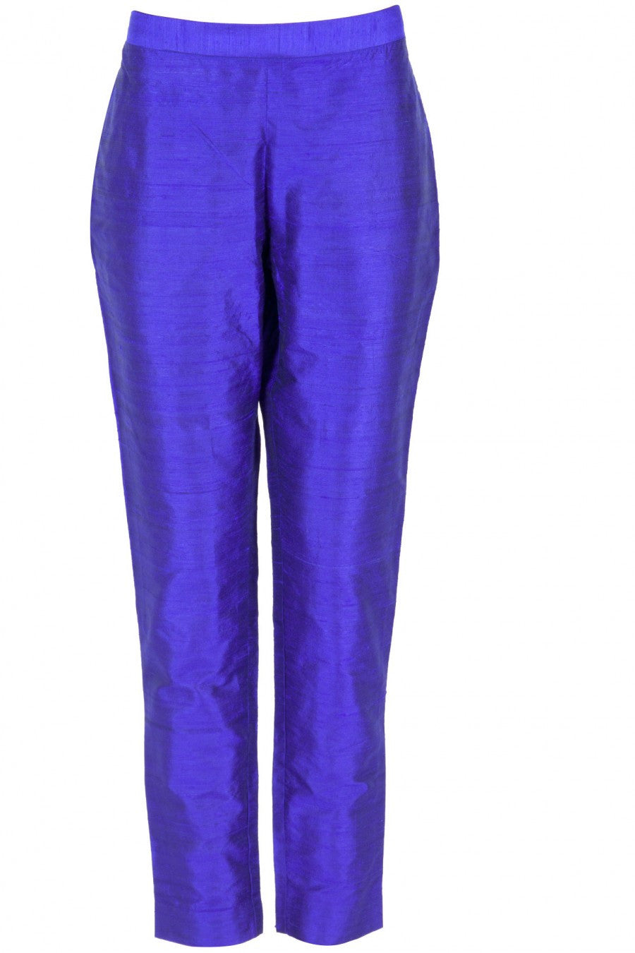 Royal blue color designer trouser suit