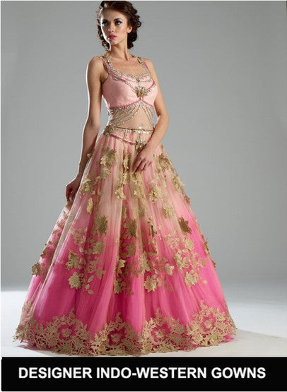 Indo-Western Gowns Collection