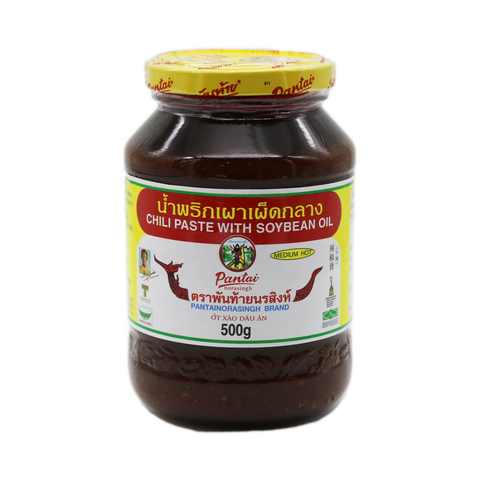 Chilli Paste Soya Bean OIL 'Pantai' 500g - Tangola Pty Ltd
