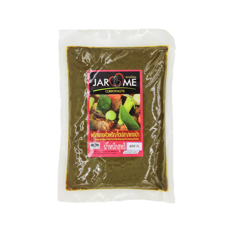 Curry Paste 'Jarome' Tai Pla/Kaeng Kua Prik 400g - Tangola Pty Ltd