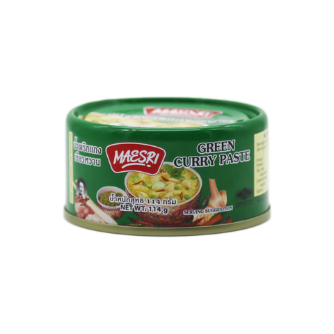 Curry Paste 'Mae Sri' Green 114g - Tangola Pty Ltd