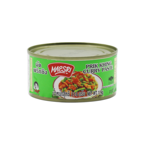 Curry Paste 'Mae Sri' Prik King 114g - Tangola Pty Ltd