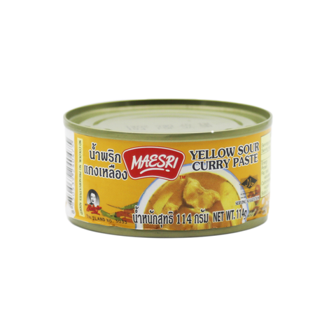 Curry Paste 'Mae Sri' Yellow 114g - Tangola Pty Ltd