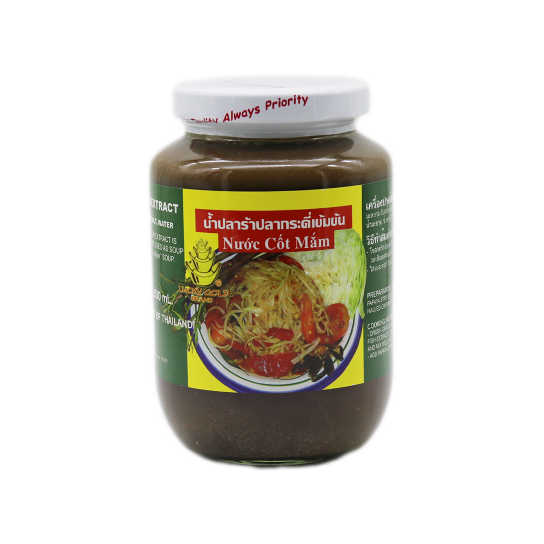 Gouramy Fish Pickled 'Lucky Gold' 500g - Tangola Pty Ltd