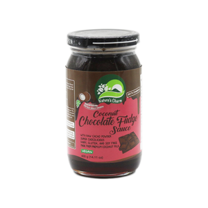 Sauce Coconut Chocolate Fudge 'Nature's Charm' 400g - Tangola Pty Ltd
