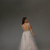 V0107 Tulle wedding dress, Boho Wedding Dress