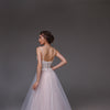 V0116,Boho Wedding Dress,Tulle Wedding Dress
