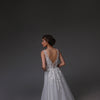 V0120,Boho Wedding Dress,Tulle Wedding Dress