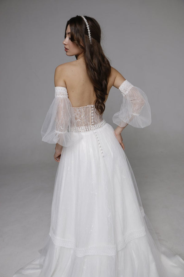 "Wedding Dresses ""Alana"" Boho Wedding Dress"