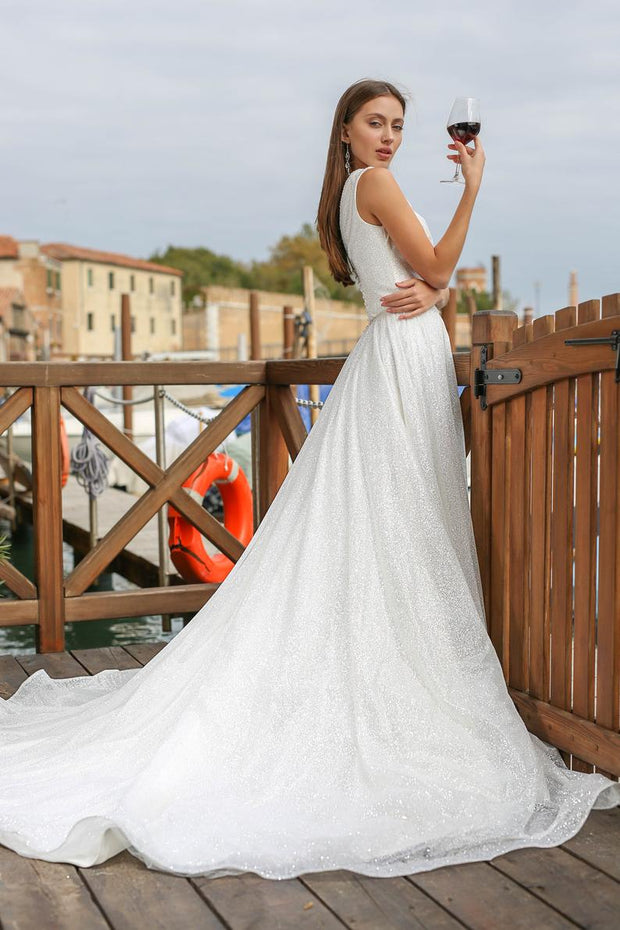 "Wedding Dress ""Amber"""