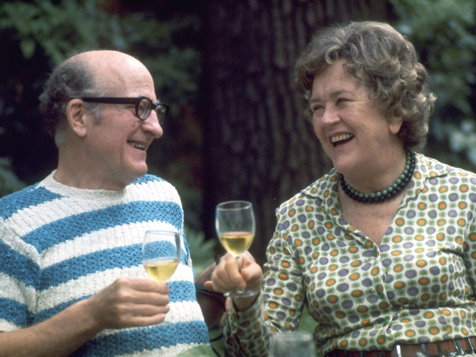 Julia Child and her husband