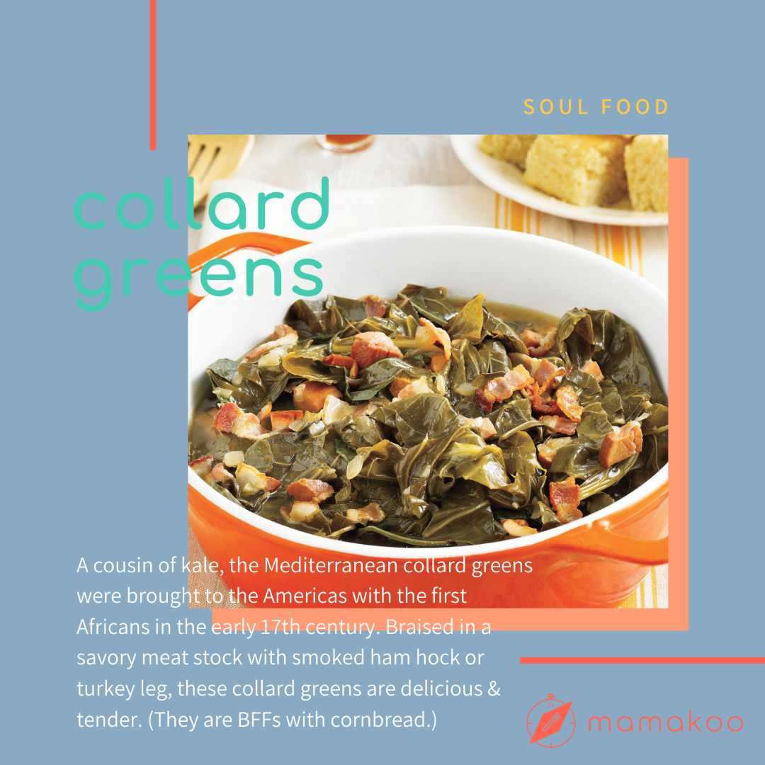 collard greens soul food blm black lives matter