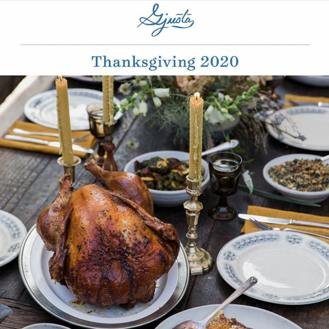 Gjusta Thanksgiving 2020 dinner preorder takeout