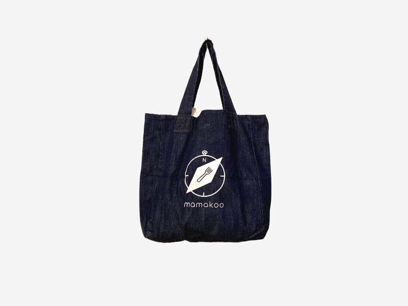 Mamakoo Denim Tote Bag