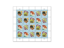 Load image into Gallery viewer, USPS Domestic Postcard Stamps (Set of 10 stamps)