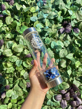 Load image into Gallery viewer, Shiva Smoke Lapis Lazuli Infusion Flask