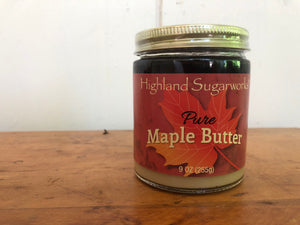 Highland Sugarworks Pure Maple Butter