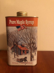 Maple Syrup in Traditional Tin Container