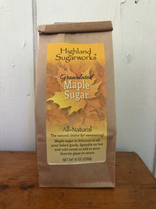 Highland Sugarworks Granulated Maple Sugar