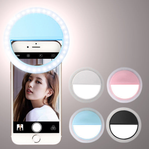 Selfie Ring Light Portable 36 LED Lamp