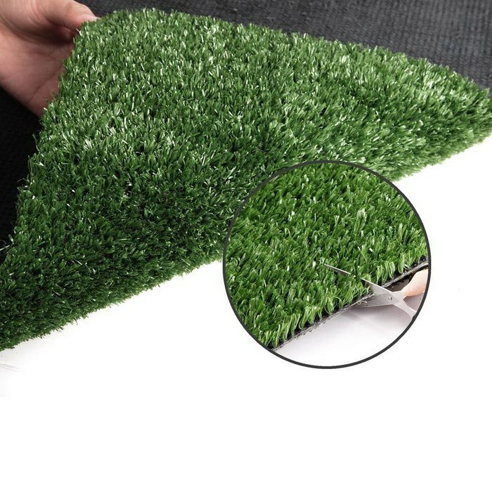 Artificial Synthetic Grass 2 x 10m 10mm - Olive Green