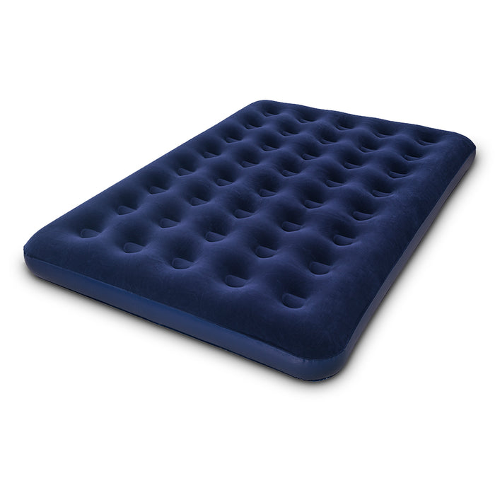 Twin Double Inflatable Air Mattress - Navy