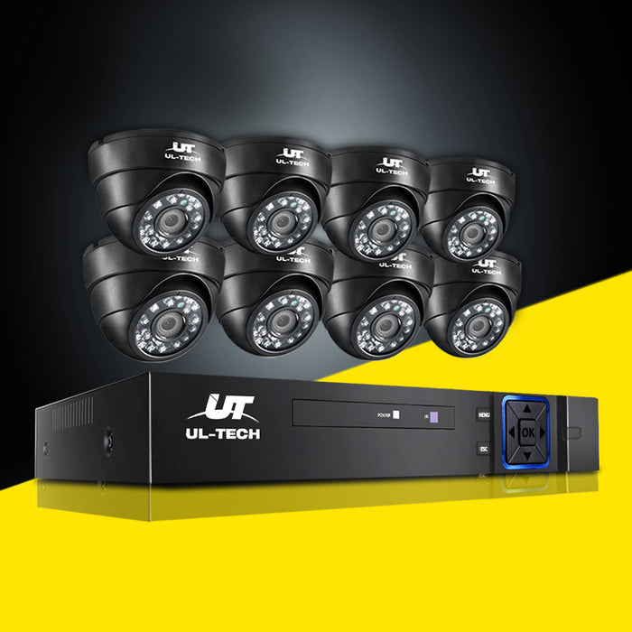 1080P 8 Channel HDMI CCTV Security Camera