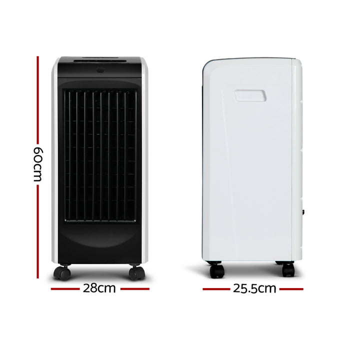 Evaporative Air Cooler - Black