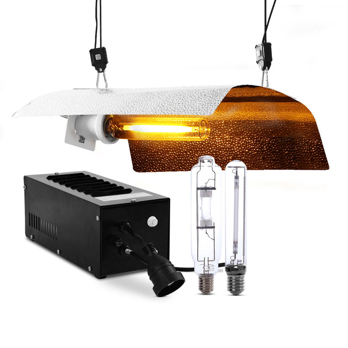 400W HPS MH Grow Light Kit Magnetic Ballast Reflector Hydroponic Grow System