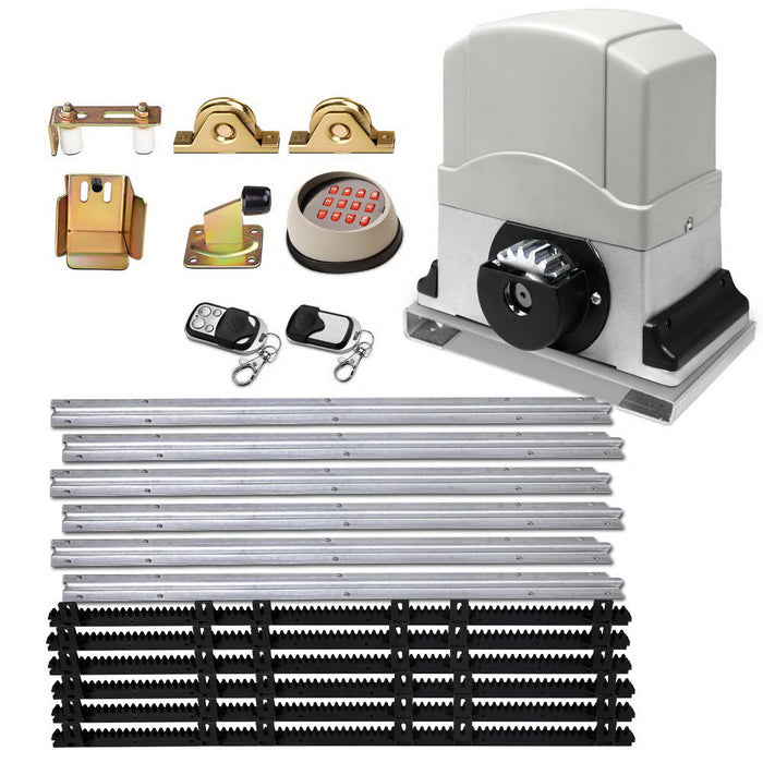 Automatic Sliding Gate Opener & Hardware Kit