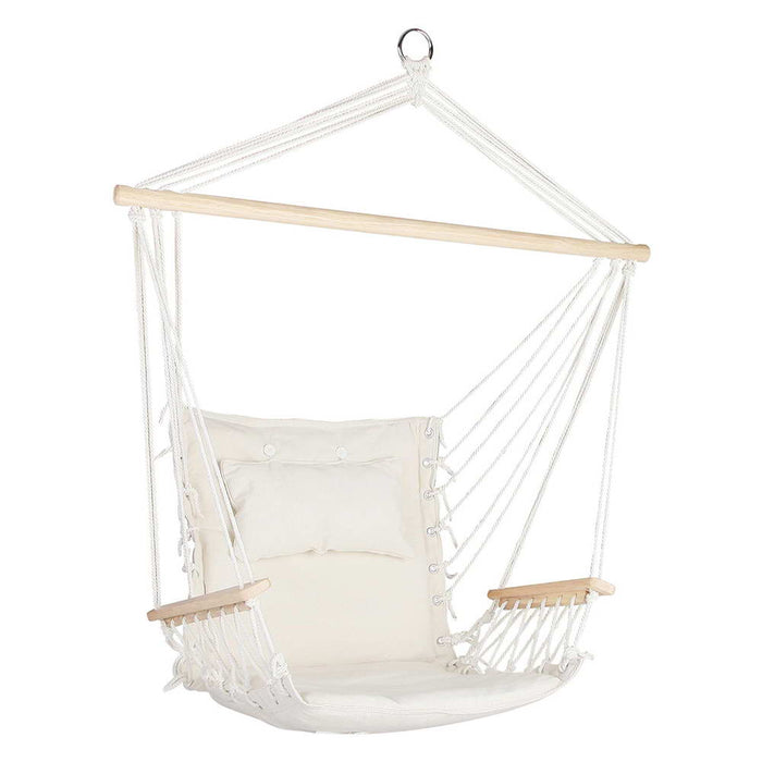 Hammock Hanging Swing Chair - Cream