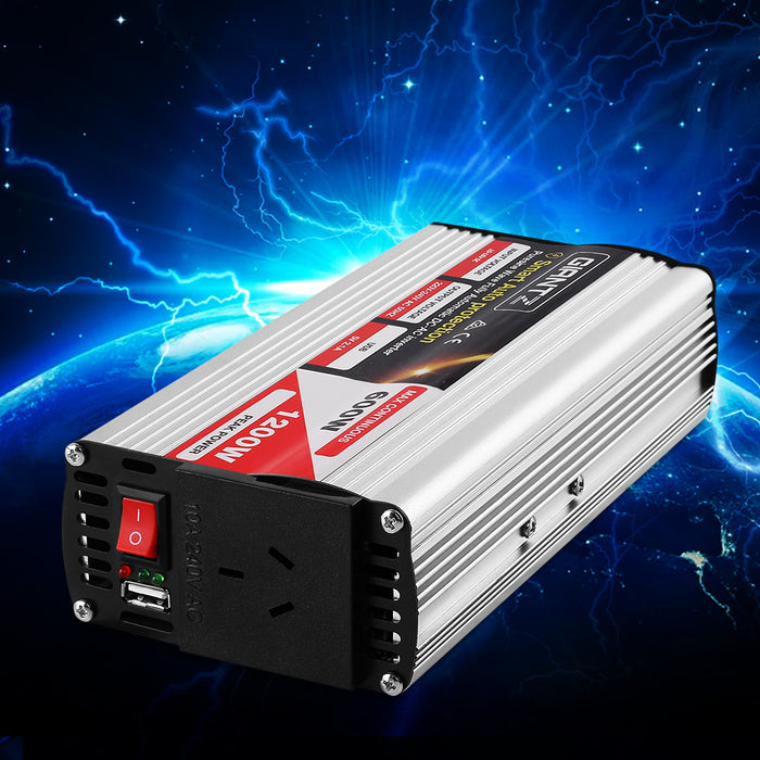 600W Puresine Wave DC-AC Power Inverter