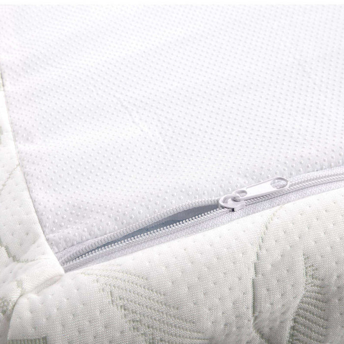 Bedding COOL GEL Memory Foam Mattress Topper BAMBOO Cover Queen 8CM Mat