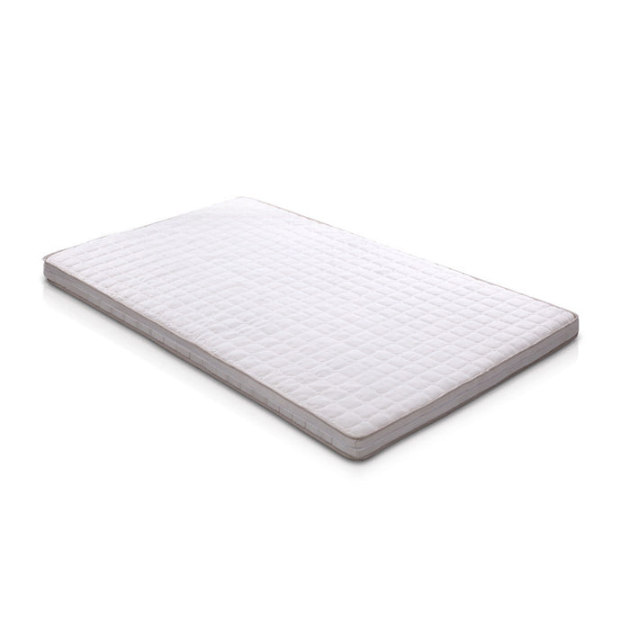 Bedding Memory Foam Mattress Topper Bed Underlay Cover King Single 7cm